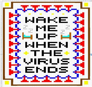 Wakemeupwhenthevirusendspattern